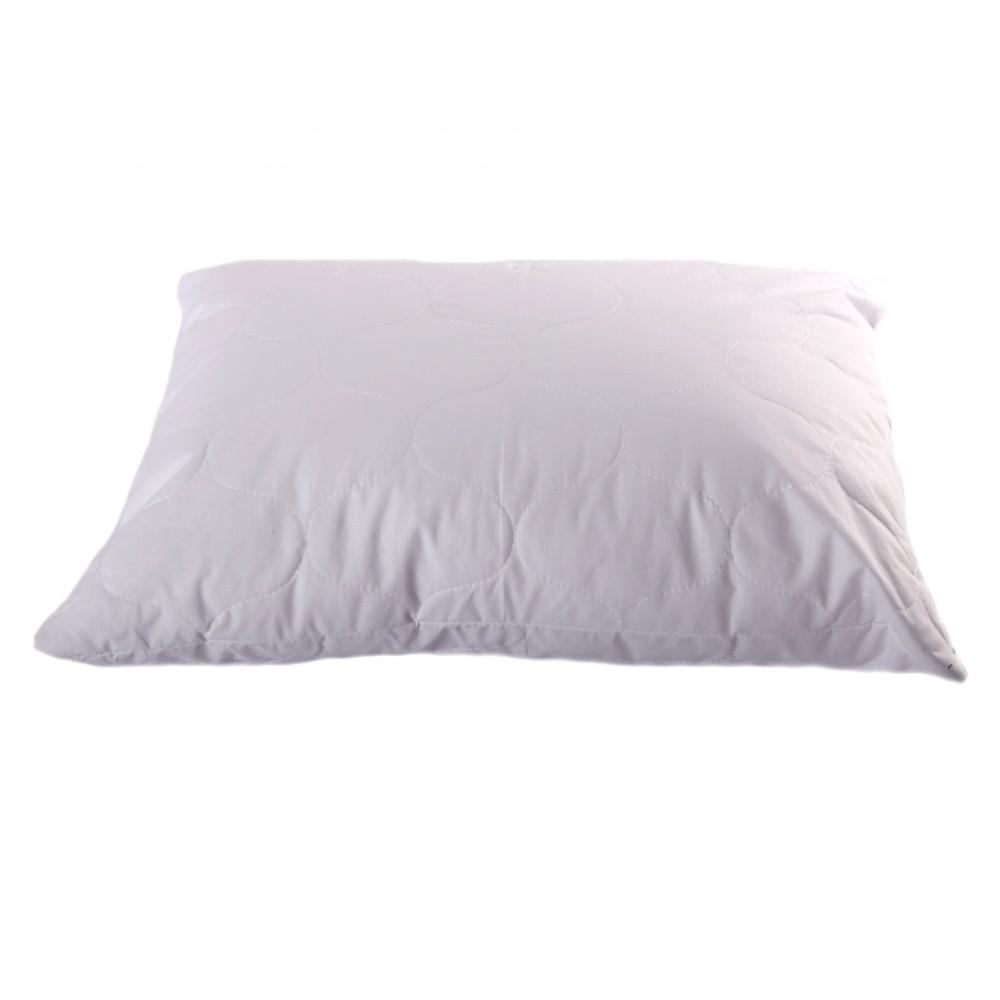 Подушка лебяжий пух натуральный Хлопок