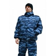 Куртка № 208 (ткань оксфорд, КМФ синий)