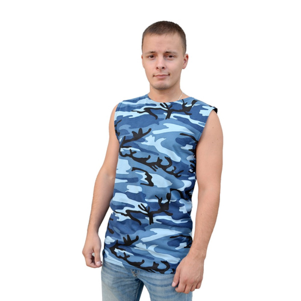 Майка В/О (КМФ синий)