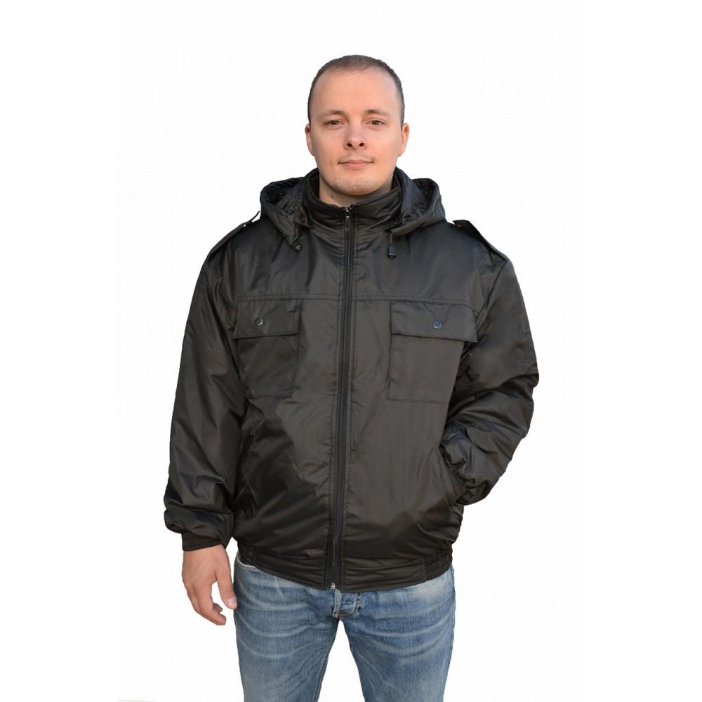 Куртка весенняя (ткань дюспо, черный)
