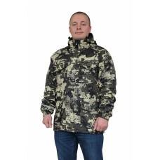 Куртка № 317-1 на термостёжке (ткань дуплекс, лес)