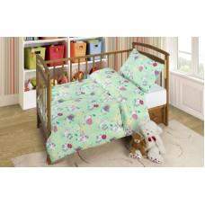 Набор в детскую кроватку(Одеяло 300 гр.+ одна подушка)ОПЛП 11+ППЛП 46