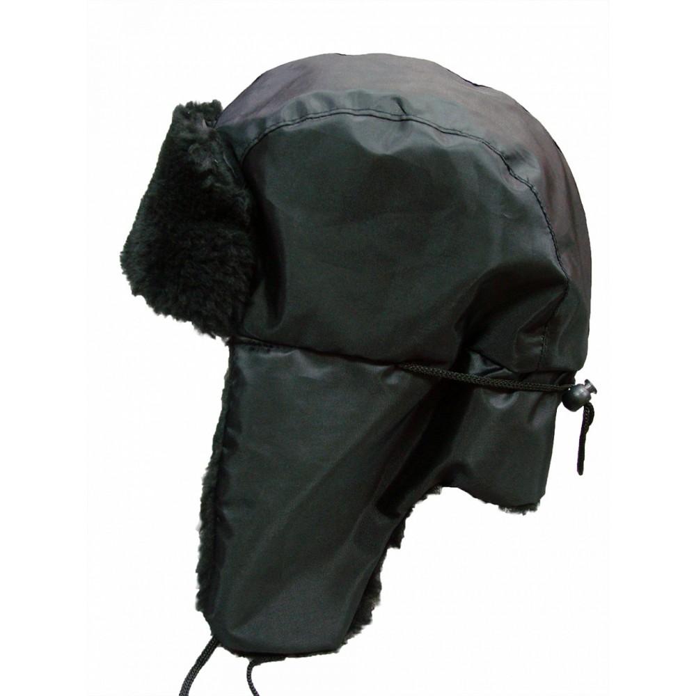 Шапка-ушанка (ткань оксфорд)