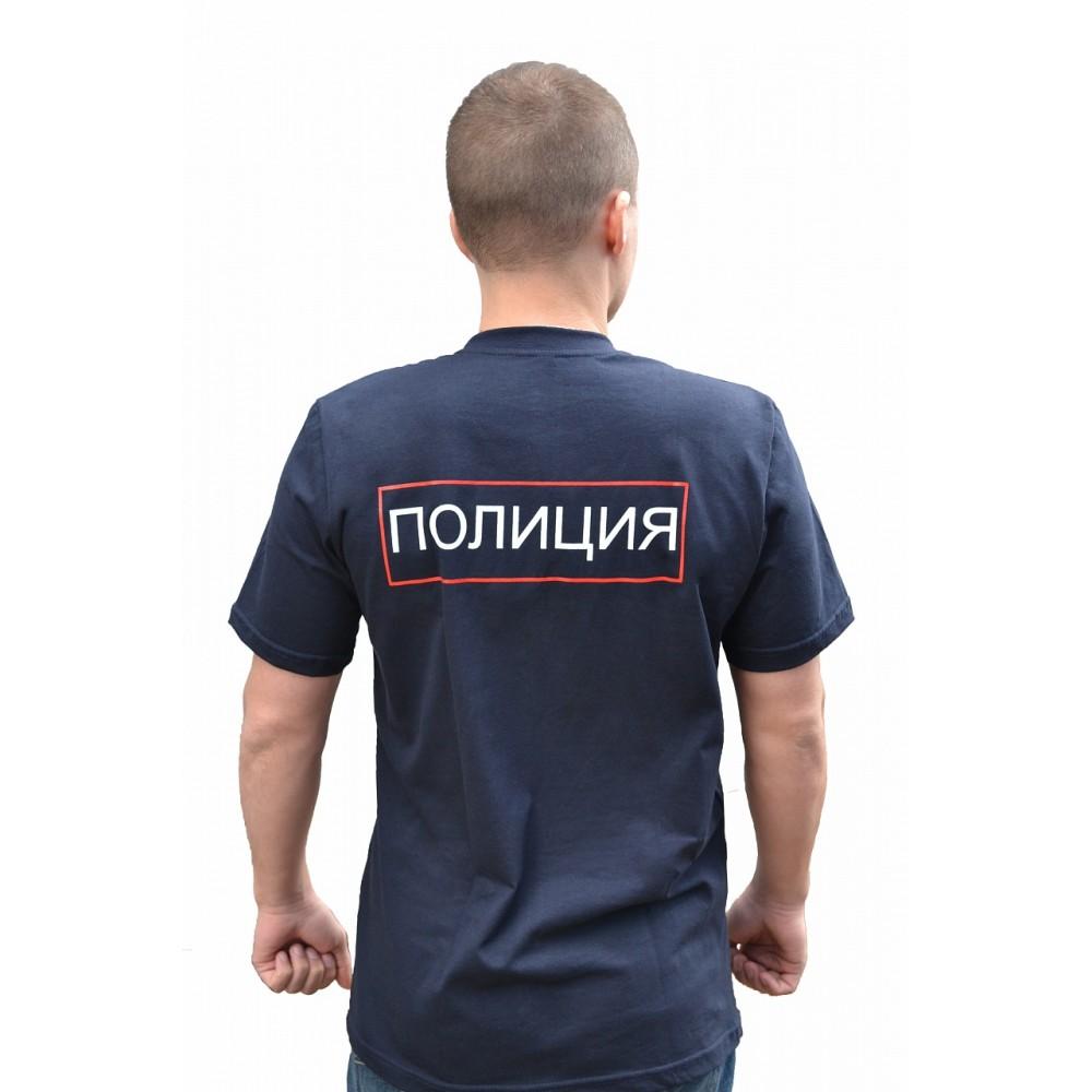 """Футболка с логотипом """"Полиция"""""""