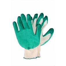 Перчатки х/б с латексным покрытием, одинарный облив