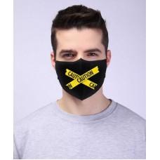 Защитная повязка - Осторожно