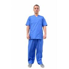 Костюм хирурга (ткань ТИСИ, василек)