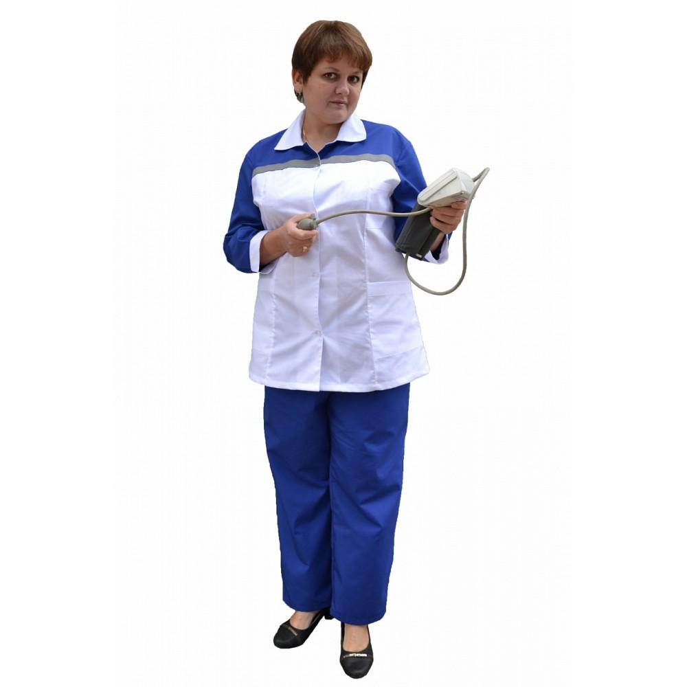 Костюм женский для работников СМП (ткань ТИСИ)