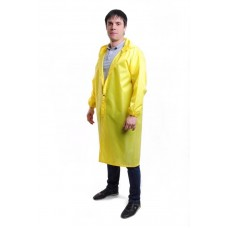 Дождевик желтый на кнопках «Оксфорд»