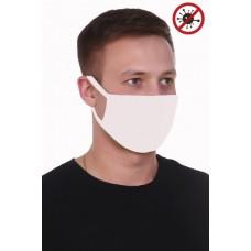 Защитная повязка на лицо* - Белая